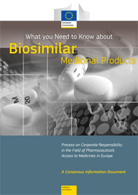 What you Need to Know about Biosimilar Medicinal Products