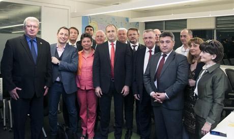 Николай Хаджидончев посети Израел като част от бизнес-делегацията по време на официалното посещение на президента Румен Радев