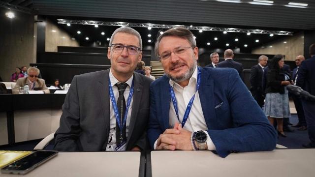 Г-н Николай Хаджидончев, Председател на БГФармА и д-р Евгени Тасовски, Изпълнителен директор на Асоциацията участваха в Кръгла маса, посветена на бъдещето на здравеопазването в България и необходимите промени в здравноосигурителния модел
